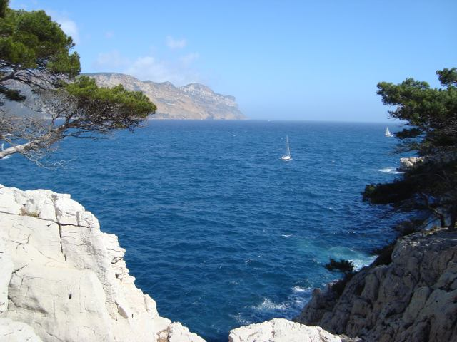 The calanque of Port Miou beside Marseille, 1h30 from Laragne...